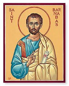 San Bernabe apostol