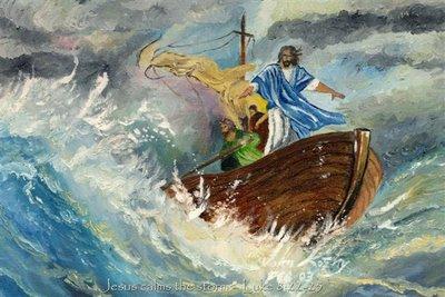 jesús calma tempestad