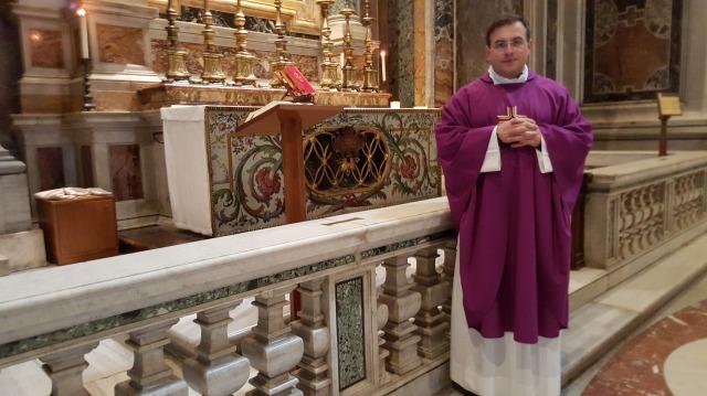 Vaticano, altar san Pío X 9.III.2016