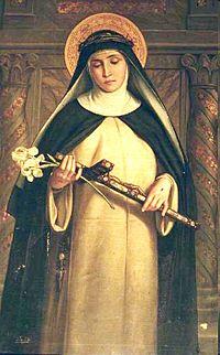 La estigmatización de santa Catalina, por Domenico Beccafumi, (1514-17)