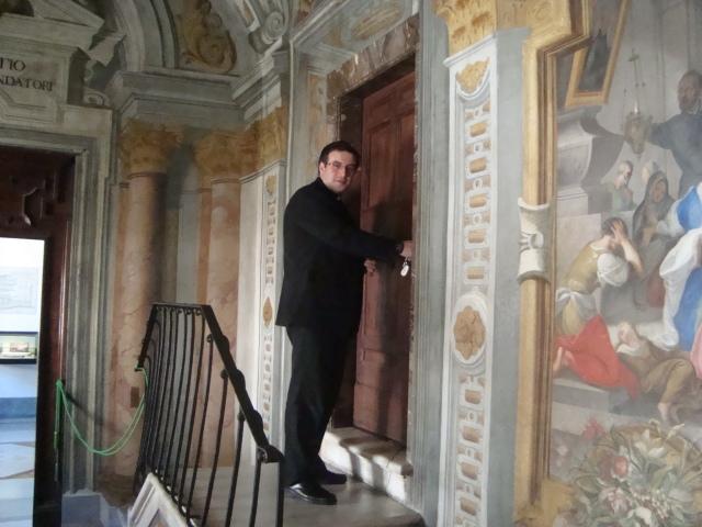 Habitación de san Ignacio en Roma.