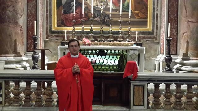 Tumba san Pío X. Vaticano. enero 2015