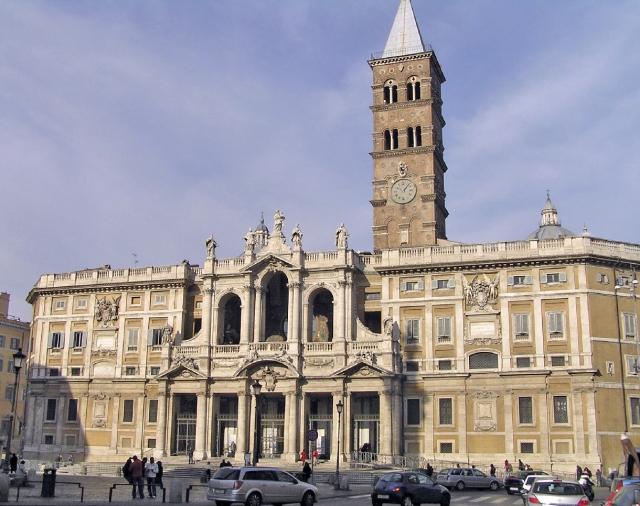 Basílica santa María la mayor, Roma
