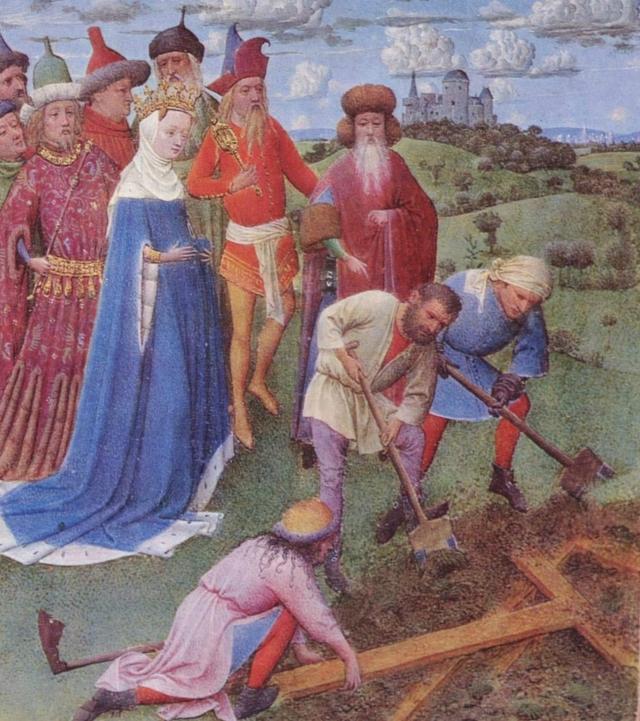 Jan van Eyck. Pintura flamenca. Santa Elena fue la madre del emperador Constantino el Grande. Influyó en la conversión de su hijo, así como en el hallazgo de la Cruz de Cristo.