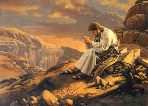 JESÚS-ORANDO-EN-EL-DESIERTO